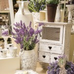 'Shabby chic' & lavender accents