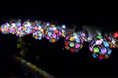 1062100 Multi Glow Gem String Lights Night high rers