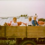Hannah (6), Simon (4) and Tristan (2) moved to Perrywood in 1984
