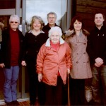 Taken in 2010 of the wider Bourne family who have all lived at Perrywood at some point