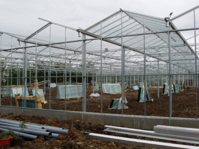 New Greenhouses being built