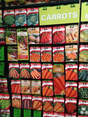A wide range of carrot see sold at Perrywood