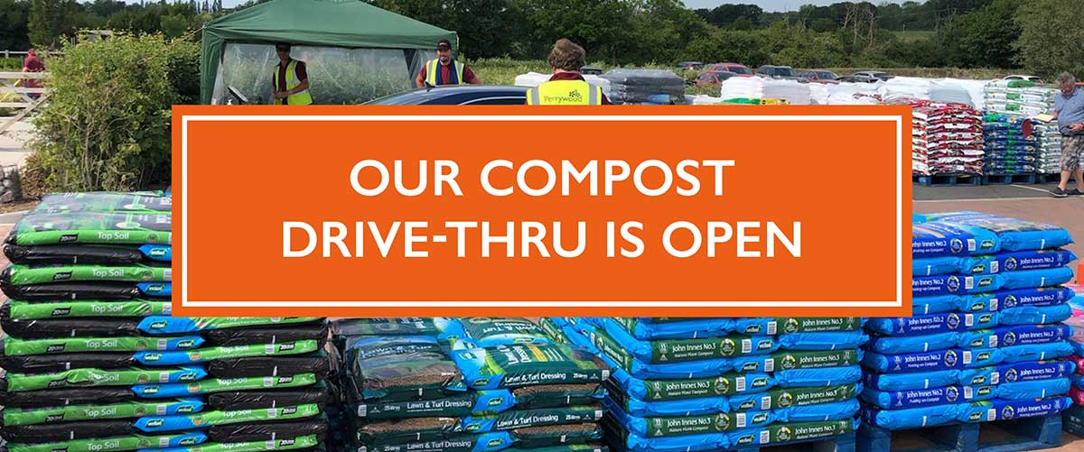 Buy Bark and Compost without leaving your car