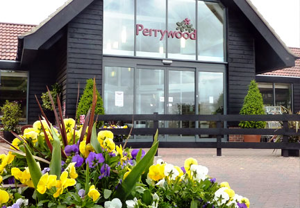 Welcome To Perrywood Garden Centre, near Tiptree in Essex...