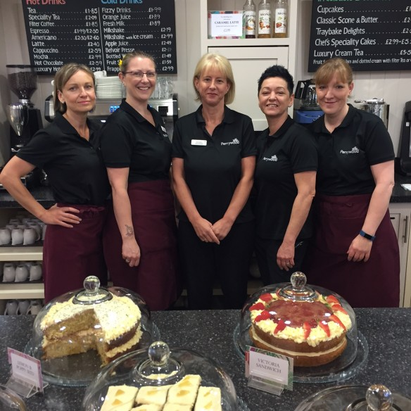 Some of the Coffee Shop Front of House team