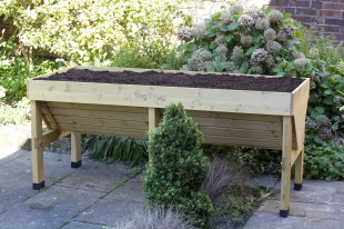 Plant Vegetables At Waist Height With The Veg Trug Perrywood