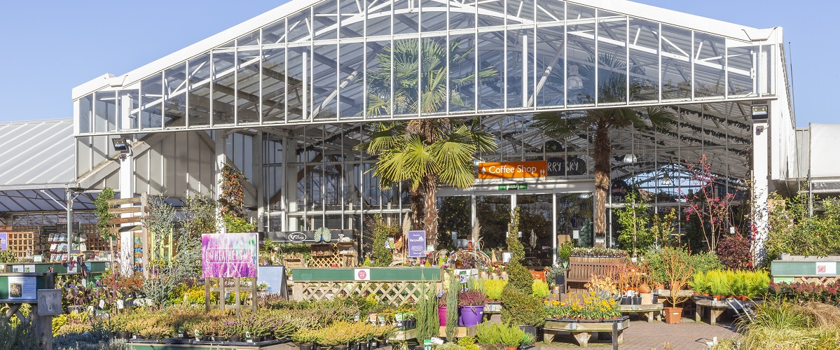 Tiptree - No. 3 in the Garden Centre Association league table of the top 100 UK garden centres