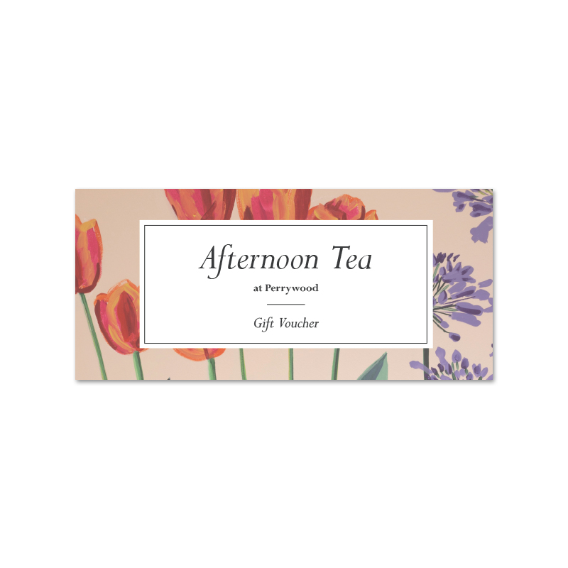 Afternoon Tea Gift Vouchers Perrywood
