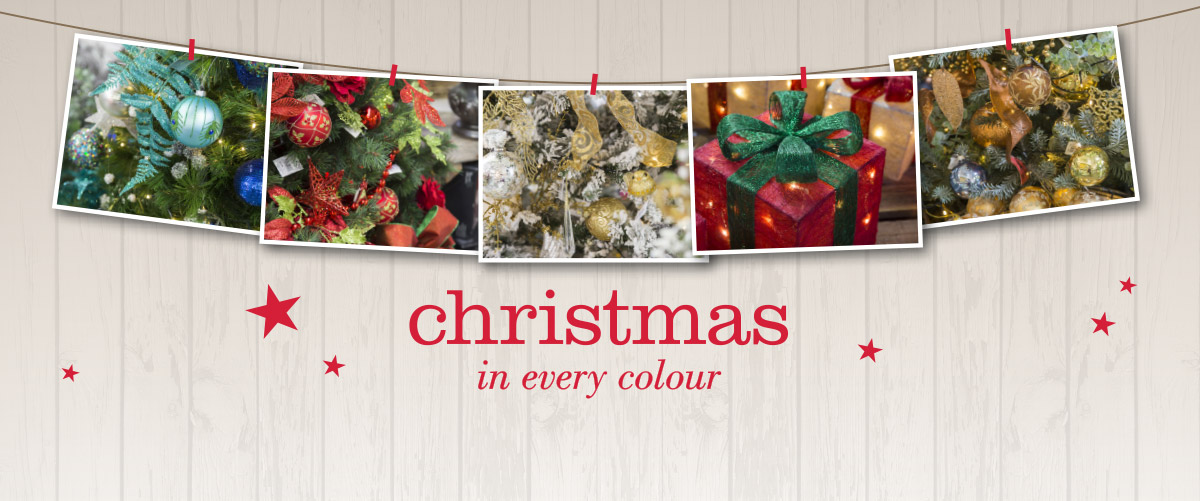 Be inspired by the themes in our Christmas Shop