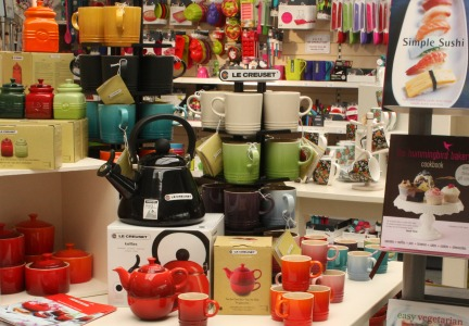 Large home shop selling cookware, gifts, books, foodie treats & more...