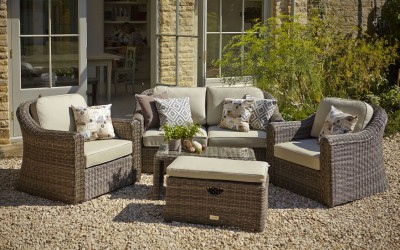 Semerang Garden Furniture Set sold at Perrywood