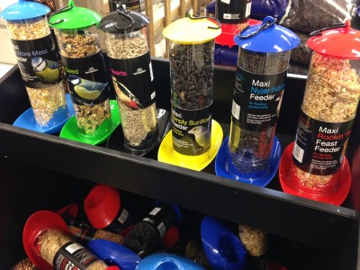 Wild bird feeders are a simple way to attract birds and help them through the colder months