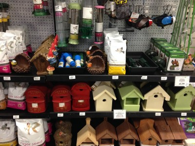 Wild bird feed and accessories