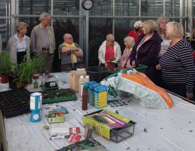 Members of the U3A attended our propagation demonstration