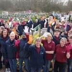 Team 'Glovies' competition for the Greenfingers charity